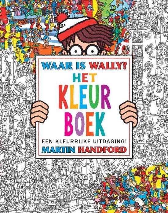 Waar is Wally - Het kleurboek - Martin Handford |