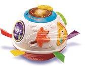 Afbeelding van VTech Baby Dieren Draaibal Wit - Interactieve Bal speelgoed