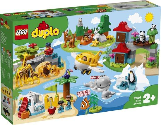 Afbeelding van LEGO DUPLO Dieren van de Wereld - 10907
