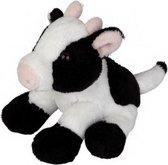 Knuffel koe zittend