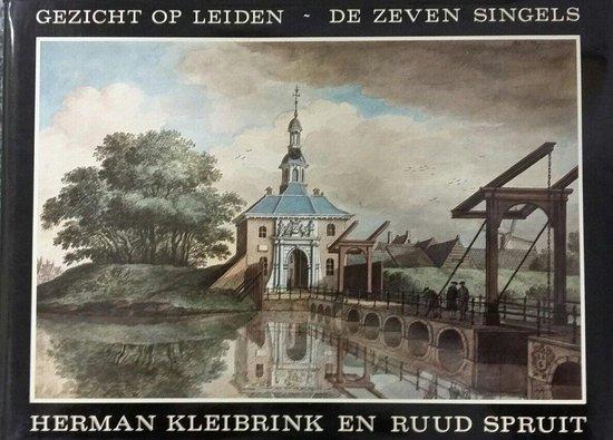 Gezicht op leiden de zeven singels - Kleibrink |