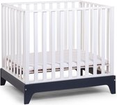 CHILDWOOD - Box 96 BEUK WIT FRAME NAVY BLUE 75x95