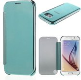 iClone Samsung Clear View Cover Galaxy S6 groen