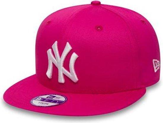 New Era Cap 9FIFTY New York Yankees - One size - Kids - Unisex - Roze - New Era