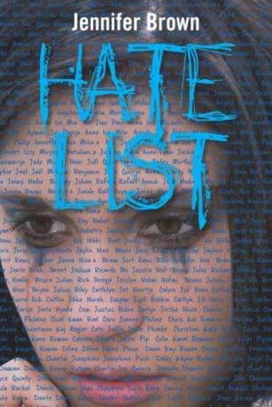 Cover van het boek 'Hate list' van Jennifer Brown