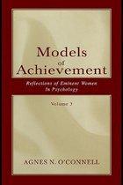 Boek cover Models of Achievement van OConnell, Agnes N.