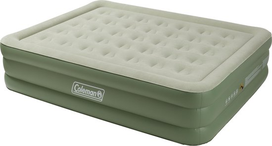 Coleman Maxi Comfort - Luchtbed - 2-Persoons - 198x152x46 cm - Olijf