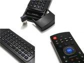 MX3 Air mouse / Flymouse - Met mini toetsenbord - Ideaal voor bij de Android TV Box, Mediaspeler of PC