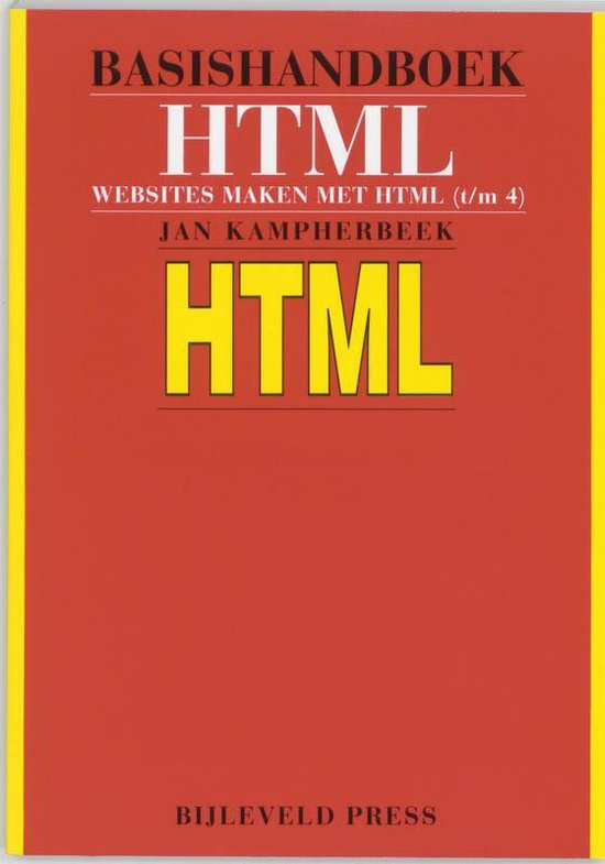 Basishandboek HTML - J. Kampherbeek pdf epub