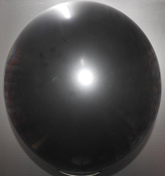 reuze ballon 160 cm 64 inch zwart