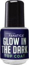 Cosmetica Fanatica - Glow in the Dark - Top Coat - 1 mini flesje met 5 ml. inhoud