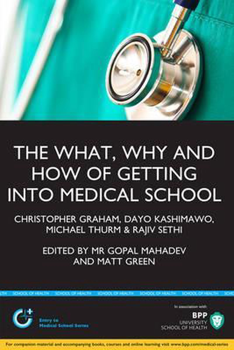 The What, Why & How of Getting Into Medical School