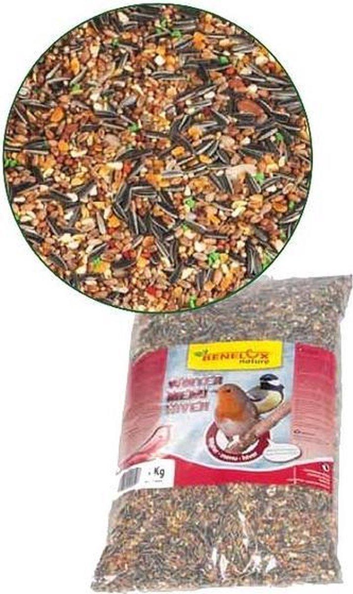 Strooivoer voor tuinvogels 4 kg