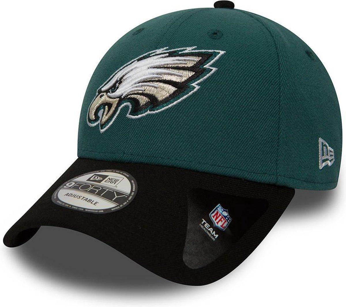 New Era Cap 9FORTY Philadelphia Eagles NFL - One Size - Midnight Green/Black - New Era