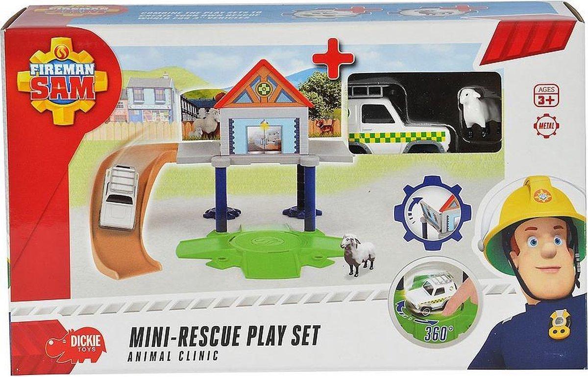 Brandweerman Sam Dierenkliniek Speelset