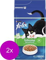 Felix Inhome Sensations - Kattenvoer - 2 x 4 kg