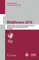 Middleware 2010