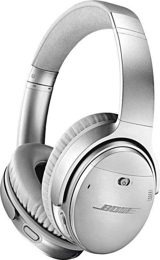 Bose QuietComfort 35 serie II - Draadloze over-ear koptelefoon met Noise Cancelling - Zilver
