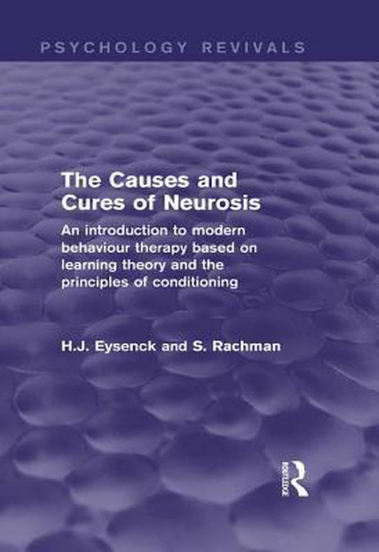 Boek cover The Causes and Cures of Neurosis (Psychology Revivals) van H.J. Eysenck (Onbekend)