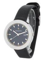 TECTONIC  41-1105-44 Horloge - Leer - Zwart - Ø 31 mm