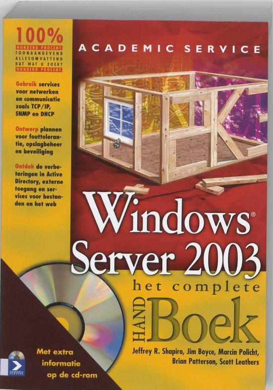 Windows Server 2003 - Jeffrey R. Shapiro | Fthsonline.com