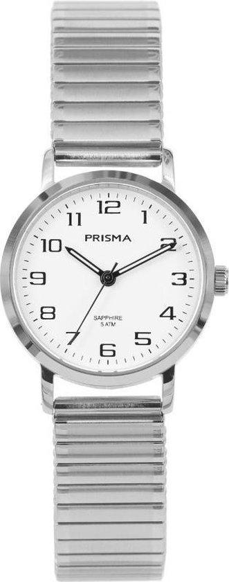 Prisma Stainless Steel Sapphire Dameshorloge P1756
