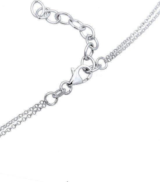 Elli Halsketting Infinity choker oneinidgheid liefde 925 zilver - Elli