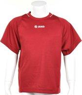 Jako Shirt Fire KM - Sportshirt - Kinderen - Maat 116 - Donker Rood