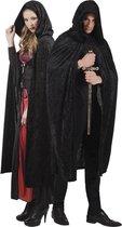 Zwarte cape voor volwassenen Halloween  - Verkleedattribuut - One size