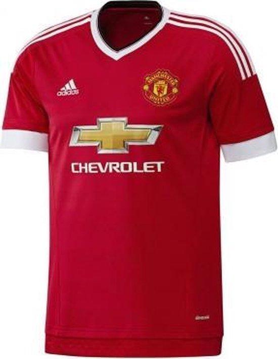 adidas Manchester United Junior Home Replica - Voetbalshirt - Heren - Maat 164 - Rood