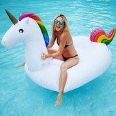 XXL Opblaasbare Unicorn / Eenhoorn - Zwemband / Luchtbed van 270cm