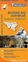 Michelin 534 Belgique Sud, Ardenne - Zuid-België, Ardennen