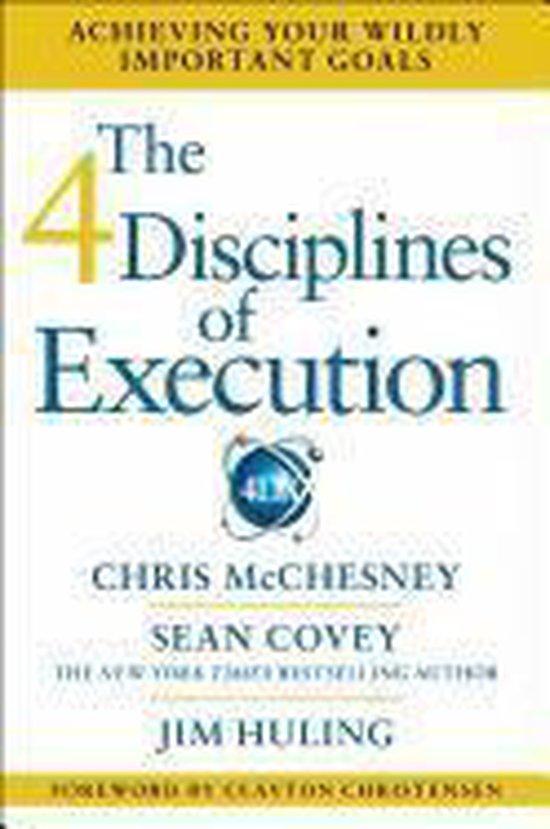 Boek cover The 4 Disciplines of Execution van Chris Mcchesney (Hardcover)