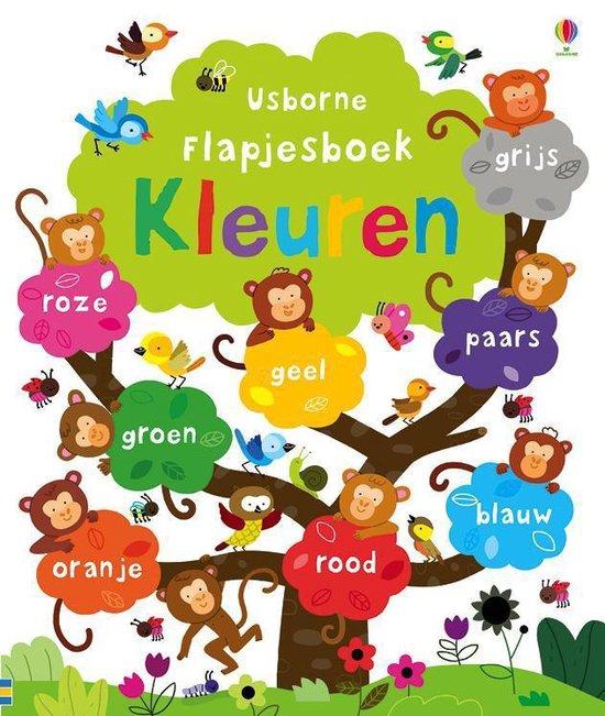 Flapjesboek kleuren - Felicity Brooks |
