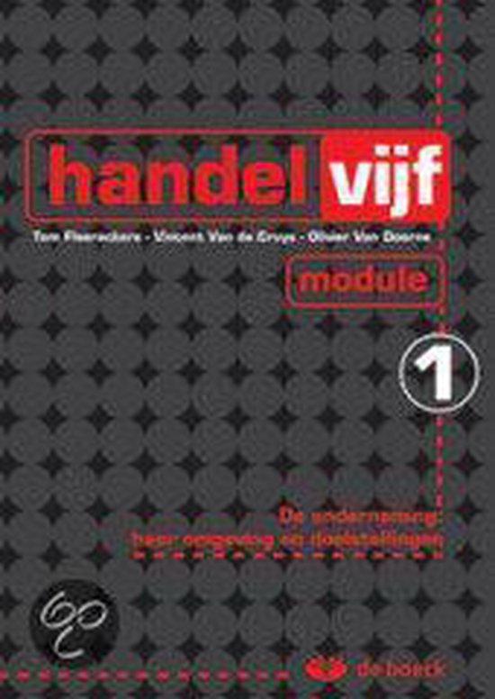 Handelvijf - module 1 - Vincent van de Cruys | Fthsonline.com
