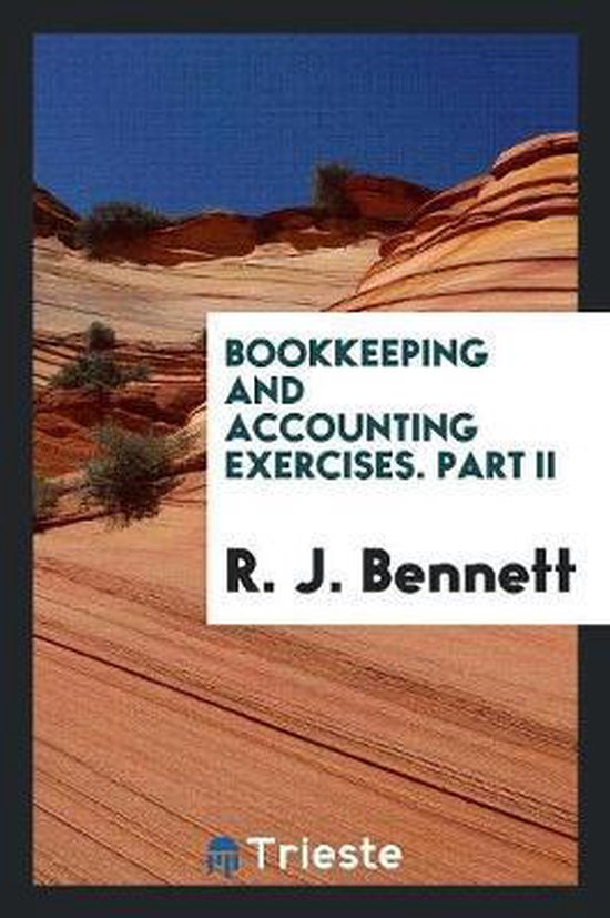 Bookkeeping and Accounting Exercises. Part II