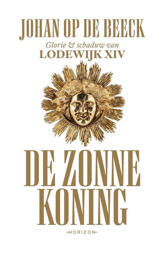 Boek cover De Zonnekoning van Johan op de Beeck (Onbekend)