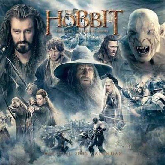 Official the Hobbit Square Calendar 2015