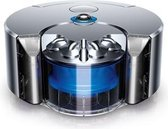 Dyson 360 Eye robotstofzuiger Zakloos Blauw, Nikkel 0,33 l