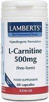 Lamberts L Carnitine 500 8306 Capsules