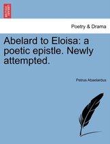 Abelard to Eloisa