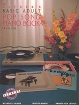 Boek cover Alfreds Basic Adult Songbook/level 1 van Willard A Palmer