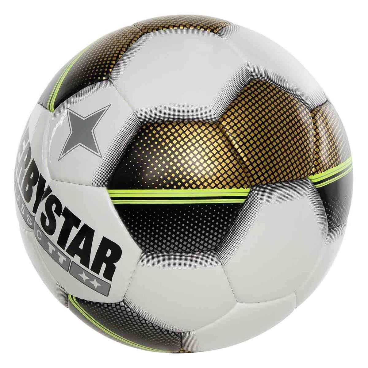 Derbystar Classic TT 5 Voetbal - Multi Kleuren - 3 Vak Goud - Maat 5 - Derbystar
