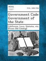 Government Code Government of the State