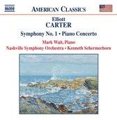 Carter:Sym.No.1.Piano Concerto
