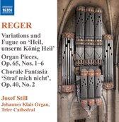 Reger: Organ Works Vol. 9