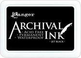 Archival Permanent Ink Pad - Jet Black - Zwart