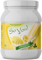 SoYou! Maaltijdshake Bananalicious zonder kunstmatige zoetstoffen!