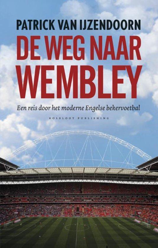 Cover van het boek 'De weg naar Wembley'