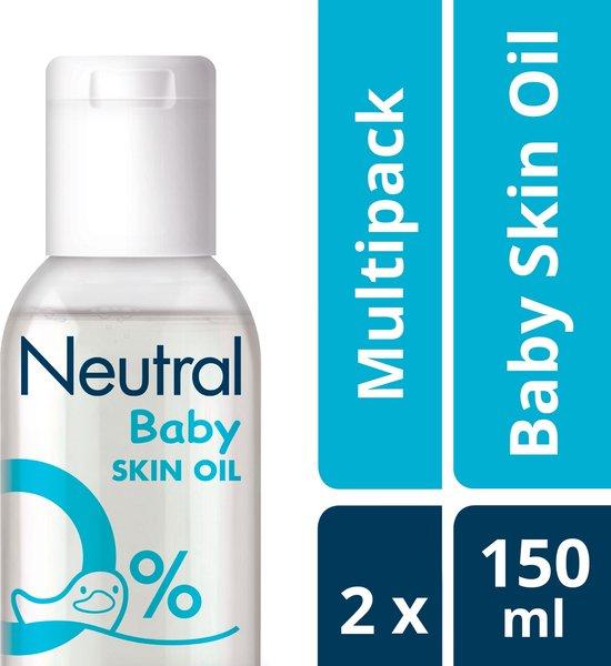 Neutral 0% Baby Huidolie - 2 x 150 ml - Voordeelverpakking
